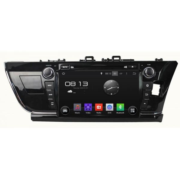 In-Dash DVD Player For Toyota Corolla GPS 2014-17