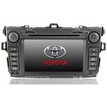 In-Dash DVD Player For Toyota Corolla