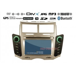 "7"" Digital Touchscreen LCD DVD TV GPS Player For Toyota Vitz Yaris"