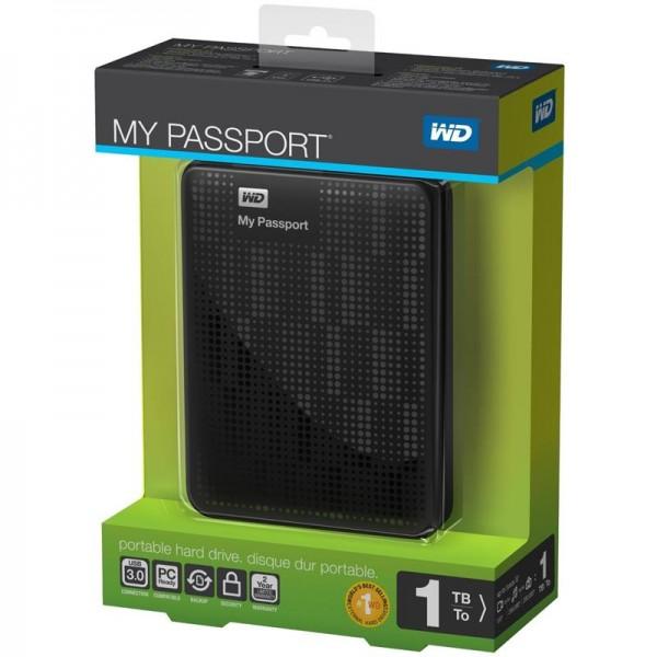 Western Digital My Passport 1TB - USB 3.0