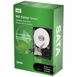 "Western Digital 1000GB 3.5"" HDD Caviar Green SATA"