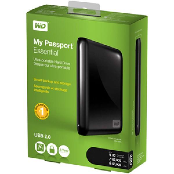 Western Digital Passport 750GB - USB 3.0