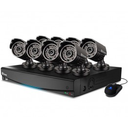CCTV 8 Cameras DVR Complete Security Solution
