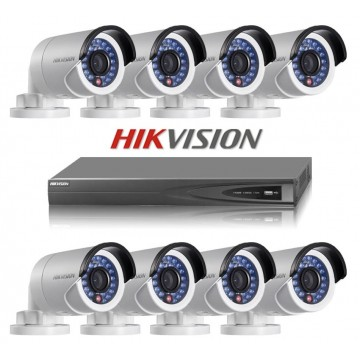 Hikvision 8CH Turbo HD 720P Surveillance Kit