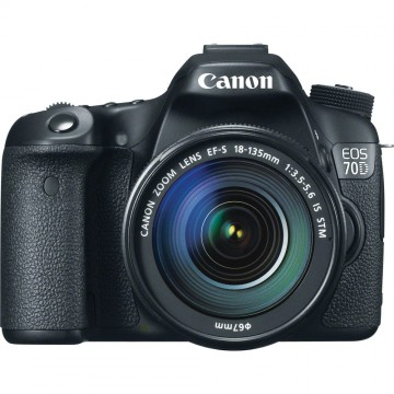Canon EOS 70D 18-135mm Lens Kit
