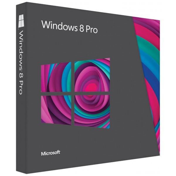 Microsoft Windows 8 Pro 32/64 Bit