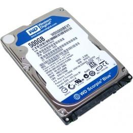 "Western Digital 500GB Scorpio Blue SATA 2.5"" Hard Drive"