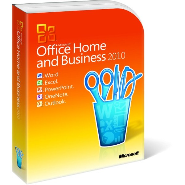 Microsoft Office Home & Business 2010 (MLK) Media Less Kit