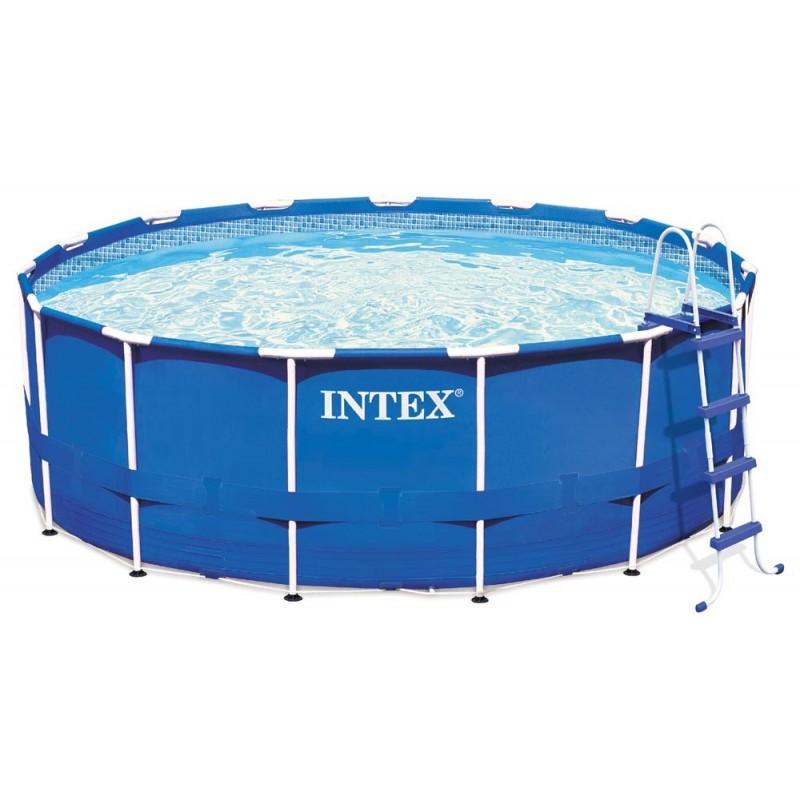 "Intex 15' x 48"" Metal Frame Swimming Pool"