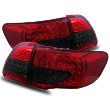 Corolla 09-10 LED Tail Light Smoke/Red