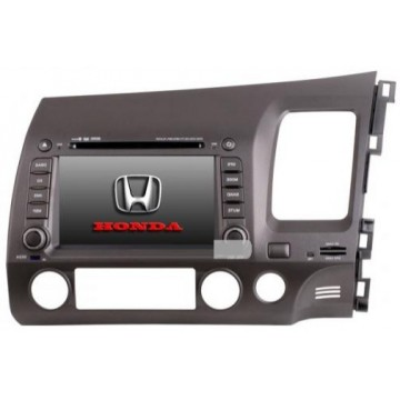 In-Dash DVD Player For Honda Civic