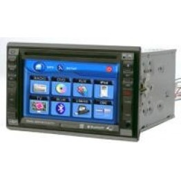 Rockmars 6.2inch Touchscreen In-dash DVD/CD/TV/CD Player/FM and Bluetooth