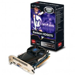 Sapphire HD 6670 2GB DDR3