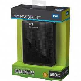 Western Digital My Passport 500GB - USB 3.0