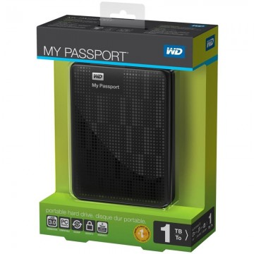 Western Digital My Passport 1TB - USB 3.0