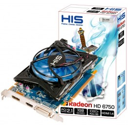 HIS Radeon HD 6750 1GB DDR5