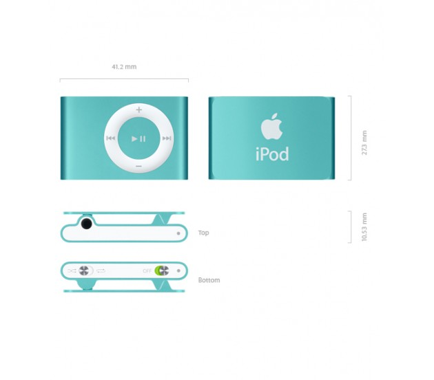 Apple Ipod Shuffle 2gb 4th Generation Price In Pakistan