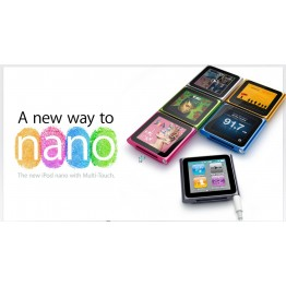 Apple iPod Nano With Multi-Touch 8GB