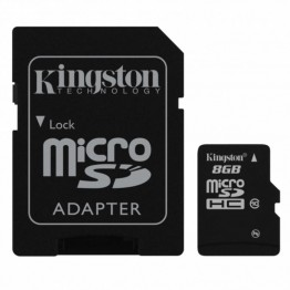 Kingston 8GB microSDHC Class 10