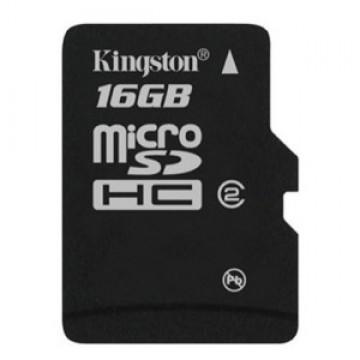 Kingston 16GB microSD Flash Memory Card