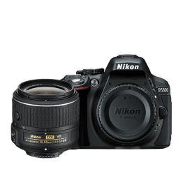 Nikon D5300 with 18-55mm VR II Lens Kit